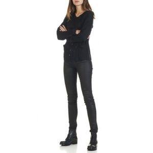COMPTOIR DES COTONNIER Glam Coated Skinny Jeans